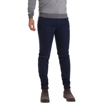 Îmbracaminte Bărbați Pantalon 5 buzunare Sei3sei PZV17 7257 Albastru