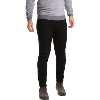 Îmbracaminte Bărbați Pantalon 5 buzunare Sei3sei PZV17 7257 Negru