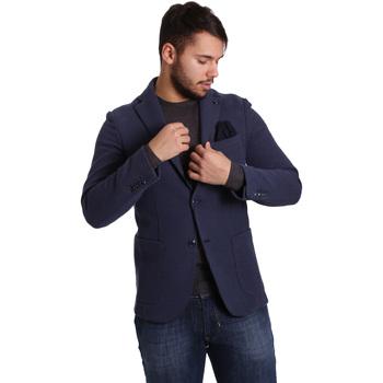 Îmbracaminte Bărbați Sacouri și Blazere Sei3sei PZG9 7290 Albastru