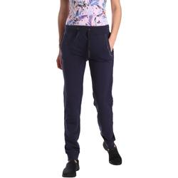 Îmbracaminte Femei Pantaloni de trening Key Up GE42 0001 Albastru
