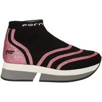 Pantofi Femei Pantofi sport stil gheata Fornarina PI18SL1077J066 Negru