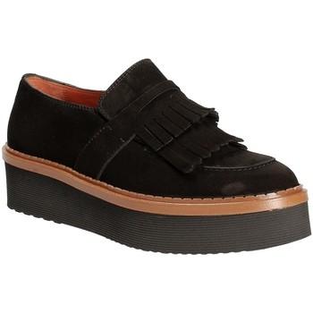 Pantofi Femei Mocasini Triver Flight 217-04 Negru