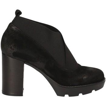 Pantofi Femei Botine Janet Sport 40837 Negru