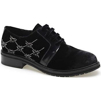 Pantofi Femei Pantofi Derby Apepazza CMB03 Negru