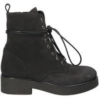 Pantofi Femei Botine Mally 4235 Negru
