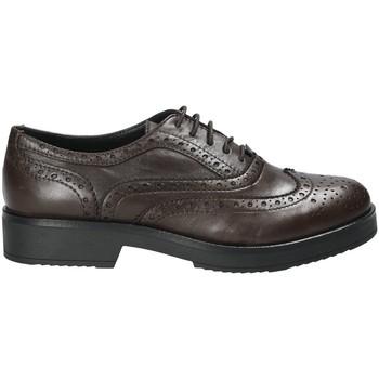 Pantofi Femei Pantofi Derby Mally 4704S Maro
