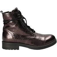 Pantofi Femei Ghete Mally 5038 Maro