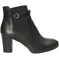 Pantofi Femei Botine Mally 5114 Negru