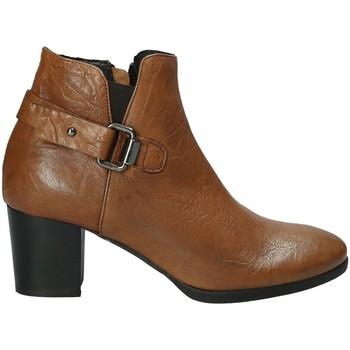 Pantofi Femei Botine Mally 5404 Maro