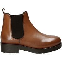 Pantofi Femei Botine Mally 5535J Maro