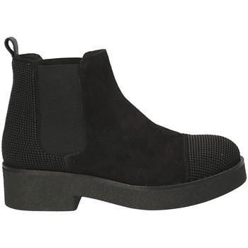 Pantofi Femei Botine Mally 5536 Negru