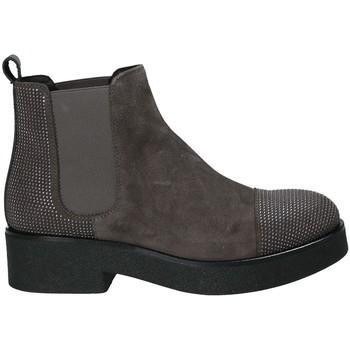 Pantofi Femei Botine Mally 5536 Maro