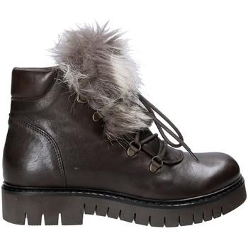 Pantofi Femei Ghete Mally 5985 Maro