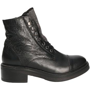 Pantofi Femei Botine Mally 6019 Negru