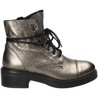 Pantofi Femei Botine Mally 6019 Gri