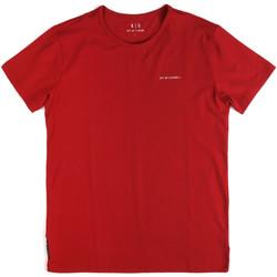 Îmbracaminte Bărbați Tricouri mânecă scurtă Key Up 2G69S 0001 Roșu