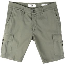Îmbracaminte Bărbați Pantaloni scurti și Bermuda Sei3sei PZV130 8157 Verde