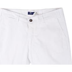 Îmbracaminte Bărbați Pantaloni scurti și Bermuda Sei3sei PZV132 81497 Alb