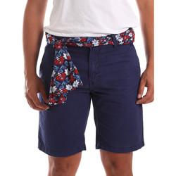 Îmbracaminte Bărbați Pantaloni scurti și Bermuda Gaudi 911BU25032 Albastru