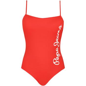 Îmbracaminte Femei Costum de baie 1 piesă  Pepe jeans PLB10280 Roșu