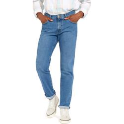 Îmbracaminte Bărbați Jeans drepti Wrangler W12OM440D Albastru