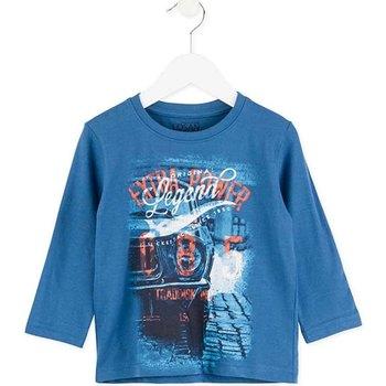 Îmbracaminte Copii Tricouri cu mânecă lungă  Losan 725 1203AC Albastru
