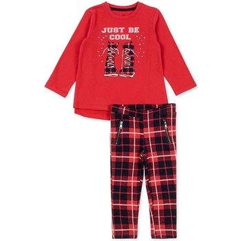 Îmbracaminte Fete Compleuri copii  Losan 726 8013AD Roșu
