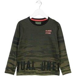 Îmbracaminte Copii Tricouri cu mânecă lungă  Losan 723 1013AA Verde