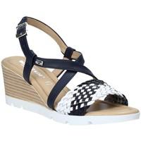 Pantofi Femei Sandale  Valleverde 32305 Albastru