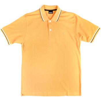 Îmbracaminte Bărbați Tricou Polo mânecă scurtă Key Up 2Q70G 0001 Galben