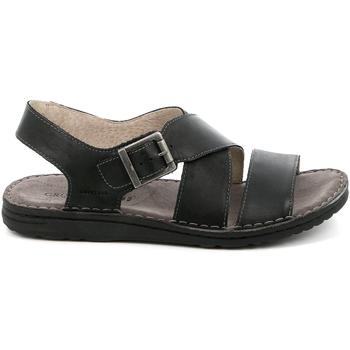 Pantofi Bărbați Sandale  Grunland SA1853 Negru