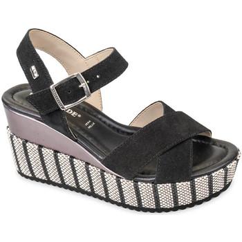 Pantofi Femei Sandale  Valleverde 32435 Negru