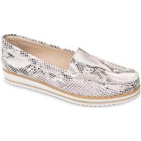 Pantofi Femei Mocasini Valleverde 11108 Bej