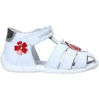 Pantofi Copii Sandale  Nero Giardini E018090F Alb