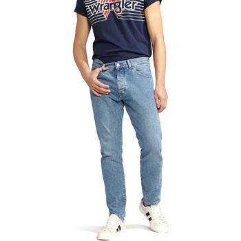 Îmbracaminte Bărbați Jeans drepti Wrangler W18RER Albastru