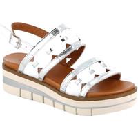 Pantofi Femei Sandale  Grunland SA2541 Alb