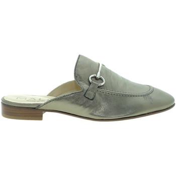Pantofi Femei Saboti Mally 6103 Maro