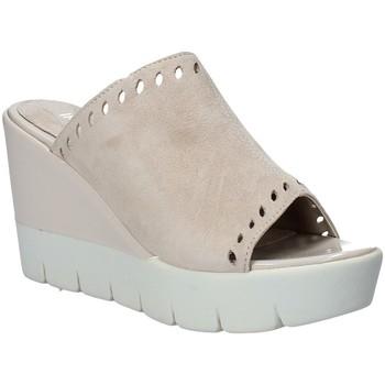 Pantofi Femei Papuci de vară Impronte IL91611A Bej