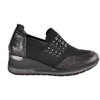 Pantofi Femei Pantofi Slip on Melluso R25510 Negru
