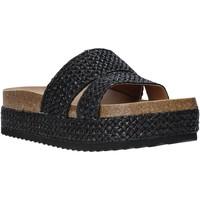 Pantofi Femei Papuci de vară Gold&gold A20 GJ302 Negru
