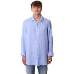 Îmbracaminte Bărbați Cămăsi mânecă lungă Calvin Klein Jeans K10K106018 Albastru
