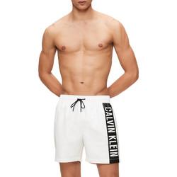 Îmbracaminte Bărbați Maiouri și Shorturi de baie Calvin Klein Jeans KM0KM00437 Alb