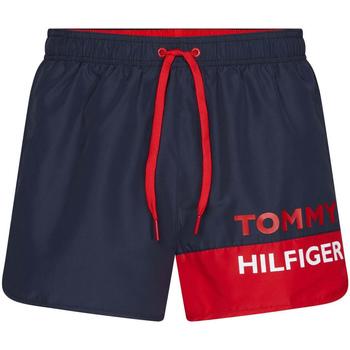 Îmbracaminte Bărbați Maiouri și Shorturi de baie Tommy Hilfiger UM0UM01683 Albastru