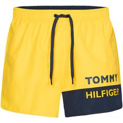 Îmbracaminte Bărbați Maiouri și Shorturi de baie Tommy Hilfiger UM0UM01683 Galben