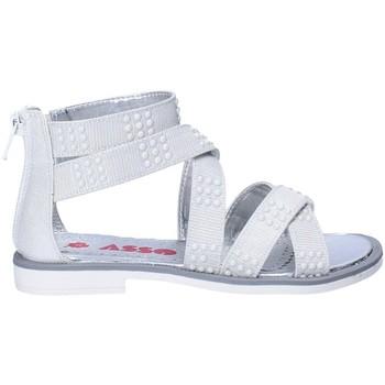 Pantofi Fete Sandale  Asso 64026 Gri