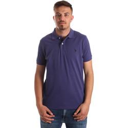 Îmbracaminte Bărbați Tricou Polo mânecă scurtă U.S Polo Assn. 41029 51244 Albastru