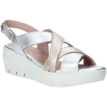 Pantofi Femei Sandale  Grunland SA1876 Argint