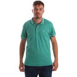 Îmbracaminte Bărbați Tricou Polo mânecă scurtă Navigare NV82077 Verde