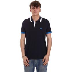 Îmbracaminte Bărbați Tricou Polo mânecă scurtă Gaudi 011BU64043 Albastru