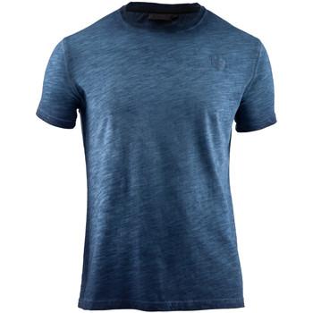 Îmbracaminte Bărbați Tricouri mânecă scurtă Lumberjack CM60343 004 517 Albastru